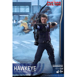 Hawkeye Ojo De Halcón Civil War Hot Toys 1.6 Captain America