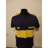 Camiseta Boca Retro 1981 Diego Maradona Nro 10 Idolo Maximo