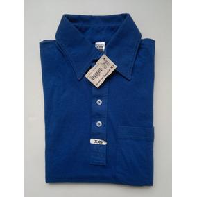 American Apparel Playera Tipo Polo Color Azul Rey Talla Xxs 085cfc404c2d8