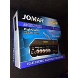 Amplificador Karaoke Jomar Para Sonido/microfonos Bluetooth