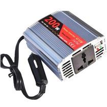 Inversor Conversor Transformador Veicular 200w 12v 110v