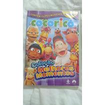 H4j45 Cocoricó - Melhores Momentos - Dvd 4 Discos Original
