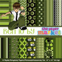 20 Itens Kit Digital Editavel Scrapbook Ben 10 Arte