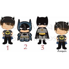 80 Llaveros Superheroes Personlizados Batman Superman Souven