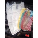 Bolsas Plasticas De Asas 10 Kg Tipo Camiseta Somos Fabrica