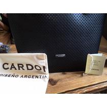 Cartera Cardon Tombo Saffiano Cuero De Vaca 100% Original