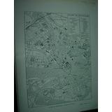 Mapa Antiguo Plano Blanco Negro Estocolmo Suecia Mapas