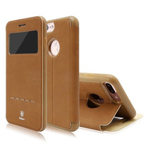 Funda Baseus Iphone 7/7 Plus Piel, Mágnetica, Inteligente
