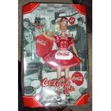 Año 1998 Mattel Barbie Collector Primera Hora De La Coca-co
