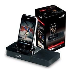 Corneta Genius Sp-i500 Para Iphone, Ipod Ipad 3er Y 4ta Gen