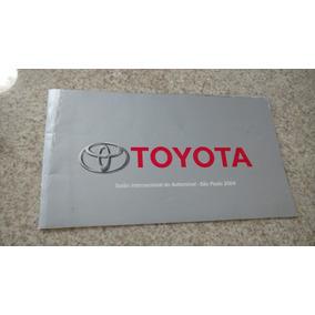 Catálogo Folder Toyota Salão Do Automóvel 2004. Item Coleção