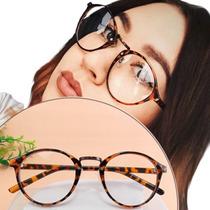 Thin - Armação Óculos Arredondada Geek Nerd Retrô Vintage