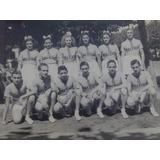 Vieja Fotografias Antiguas Equipo, Deporte 1940 Estudiantes