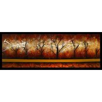 Cuadros Decorativos Pintura Óleo 120cm X 40cm Regalo Bellos