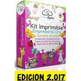 Kit Imprimible Empresarial Oro 2017 Mega Gigante + 120 Kits