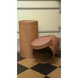 Cajas De Carton Redondas Grandes, Ideal Decoracion,potes