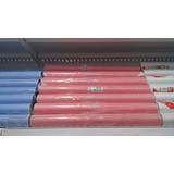 Papel Adesivo Contact - Xadrez Azul Ou Vermelho - 10 Metros