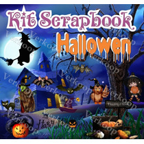 Kit Scrapbook Halloween Imagenes Png Frames Cliparts