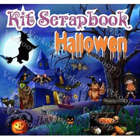 Kit Scrapbook Halloween Imagenes Png Frames Cliparts