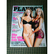 Playboy N. 333 Abril/2003 Helo Pinheiro E Ticiane