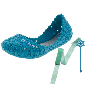 Sapatilha Infantil Feminina Frozen Azul - 21401 Grendene K