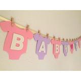 Cartel Barral Guirnalda Nacimiento Baby Shower Goma Eva