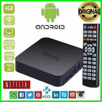 Transfor Qualquer Tv Em Smart - Box Mxq Wi-fi Canais Fechado