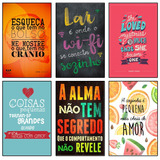 Placas Decorativas Mpf Placa Plaquinhas Frases Retro Cozinha