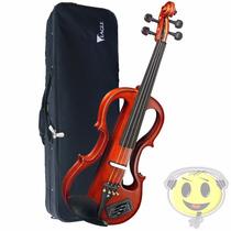 Violino Eagle Eletrico Ev744 Com Case - Loja Kadu Som
