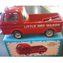 Sacapuntas Auto Camioneta Wagon Roja.metal Retro Rdf1