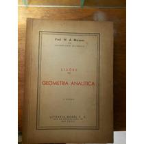 Livro: Lições De Geométrica Analítica 5°edição