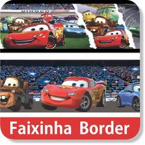 Faixa Border Decorativa Carros Adesivo Papel Parede Infantil