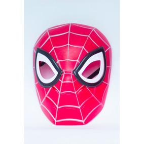 Máscara Do Homem Aranha. Emite Sons De Luta. Olhos De Led.