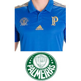 Camisa Palmeiras Centenário 100 Anos(azul) +frete Gratis Br