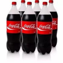 Refrigerante Coca-cola 2 Litros (6 Unidades) + Frete Grátis