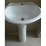 Lavamanos Pedestal Poceta Tanque Baño6 Pzas Porcelana Import