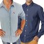 Camisa Jeans Masculina Grandes Marcas