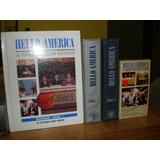 Curso Ingles Hello America Con Libros, Casettes, Cintas Vhs