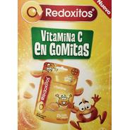 6 Redoxitos Suplemento Dietario Vit. C X 25 Gomitas Mast.