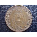 Argentina - Moneda De 2 Centavos, Año 1946 - Muy Bueno