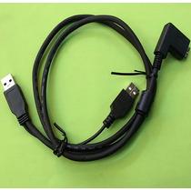 Cabo Y Usb 3.0 P/ Hd Externo Wii U Tripla Blindagem 5mm Esp