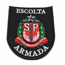 Patch / Bordado C/ Velcro - Escolta Armada Sp
