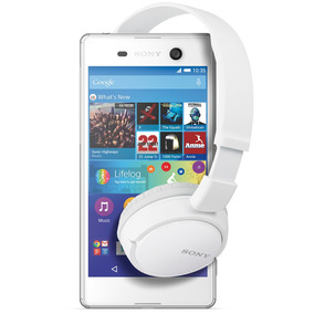 Xperia M5 + Auriculares Mdr-zx110 - Blanco - Sony Store