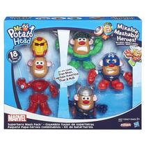 Playskool-sr. Cabeça De Batata Mashup Com 4 Heróis Hasbro B3