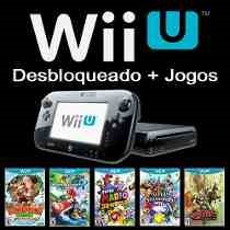 Nintendo Wiiu Detravado 32gb Preto+hd 500gb+sd 64 Gb+90jogos