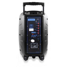 Caixa De Som Amplificadora Com Bluetooth Multifuncional