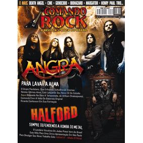 Revista Comando Rock 71 - Angra & Halford (nova)