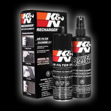 Kit Limpieza K&n Aceite Y Limpiador De Filtros De Alto Flujo