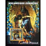 Mozambique Arte, Bloque Sc. 1490 Cranach 2001 Mint L8766