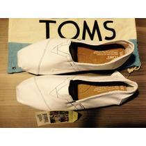 Zapato Blanco Toms Original